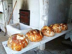 házi kenyér - recept4 Baked Potato, Muffin, Potatoes, Bread, Baking, Breakfast, Ethnic Recipes, Food, Morning Coffee