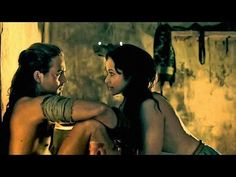 Gannicus & Melitta   Stay with me (II)   Spartacus: Gods of the Arena