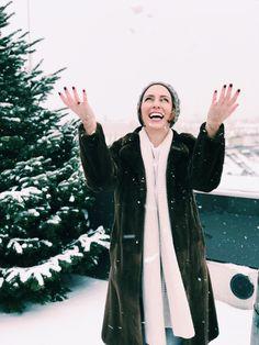 Urskastyle - Winter Portraits Raincoat, Portraits, Winter, Fashion, Rain Jacket, Winter Time, Moda, Fashion Styles