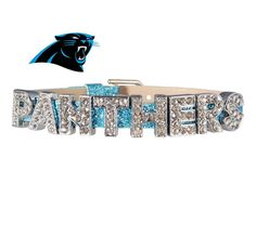 Hey, I found this really awesome Etsy listing at https://www.etsy.com/listing/177422883/carolina-panthers-bracelet-light-blue