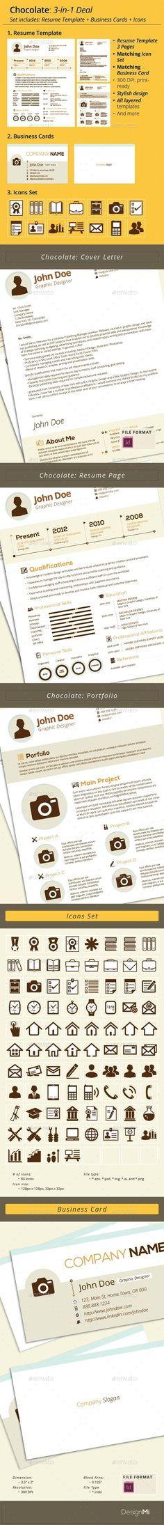 Minimal Design Resume \ Cover Letter Design resume, Resume cover - resume deal