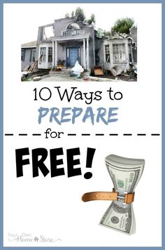 If investing money into preparedness overwhelms you, these 10 ways to prepare for free should help! Bonus: a link to projects you can do in 10 minutes!