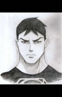 Young Justice-Superboy by Jeageractive on DeviantArt Avengers Drawings, Joker Drawings, Batman Drawing, Doodle Drawings, Easy Drawings, Sketchbook Inspiration, Art Sketchbook, Young Justice Superboy, Superboy And Miss Martian