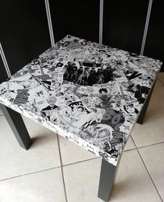 One Piece Manga 2 Collage Table FREE SHIPPING USA via Etsy 140.00