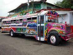 Diablo rojo el peor servicio de transporte público q Panamá ha tenido.