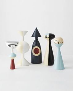 Image of TAKING FINAL ORDERS > Wooden Dolls by Sarah K