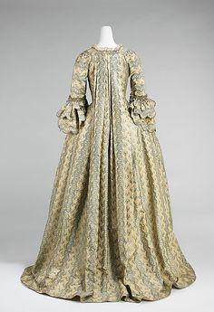 Dress (Robe à la Française) 1760