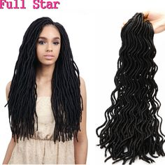 "20"" Curly Faux Locs 24 Roots Synthetic Hair weave Dreadlock Havana Mambo curly crotchet locs hair extensions Crochet Braid Hair"