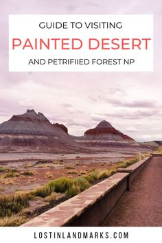 The Petrified Forest National Park in Arizona is a great day out, especially if you're travelling the iconic Route 66 road as it passes through. Here's our guide to how to make the most of a day our at the Painted Desert and Petrified Forest. Route 66 Trip, Road Trip Usa, Beautiful Places To Visit, Cool Places To Visit, Canada Travel, Travel Usa, North America Destinations, Hiking Usa, Petrified Forest National Park