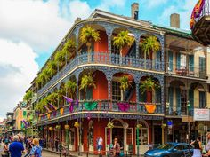 New Orleans is easy to navigate with a large group, with options to keep everyone entertained. All ages should visit the city's above-ground cemeteries, take a steamboat cruise and ride the historic streetcars. Tour Mardi Gras World to learn about the parade's history and watch floats being built. Kids will especially enjoy Carousel Gardens, a small amusement park in the city, and the Audubon Aquarium of the Americas. The fun doesn't have to end at night, since children are welcome at some…