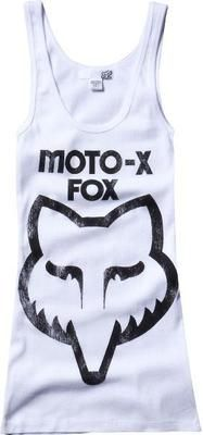 brand new cd88b 8fa79 Fox Racing Womens Moto x Fox Tank New Black White 02179 Ecklund Motorsport Flex  Fit Hats