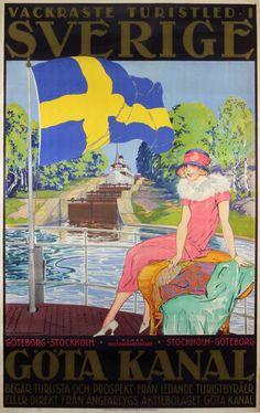 Göta Kanal - Sweden