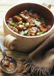 Sauté de veau aux olives                                                                                                                                                                                 Plus