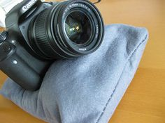 Need to make a camera bean bag for hubby...