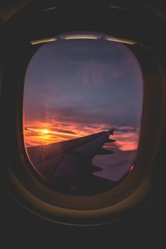 I really liked this image because i thought it was cool and unique how the photographer used the plane window as a frame and how they captured the wing of the plane and the sun.