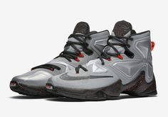 An Official Look At The Nike LeBron 13 Lava That Releases Next Week