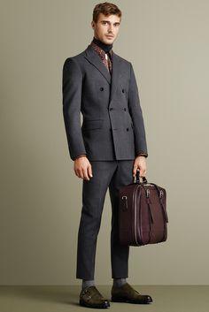 Bally Fall 2015 Menswear