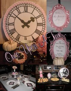 """This was Molly's 13th Tea.  She chose a """"Once Upon a Time"""" themed party.  She really enjoyed it and I loved throwing it together!"""