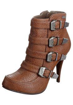 Killah KEILA Enkellaarsjes Bruin schoenen 130084