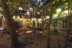 The Best Budapest Ruin Pubs - the Hostel Rocket blog about budget travel  www.HostelRocket.com