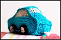 Cute car - amigurumi crochet