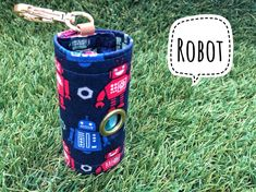 Dog Poop bags dispenser /waste bag holder Robot by QTPET on Etsy Fusible Interfacing, Robot, Your Dog, Pup, Dogs, Etsy, Puppies, Robots, Pet Dogs