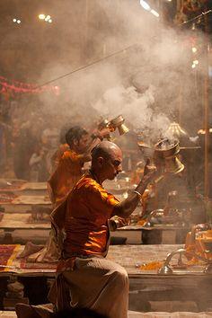 Varanasi Puja | Repinned by Moeloco Flip Flop | Buy one, change a life | www.moeloco.com