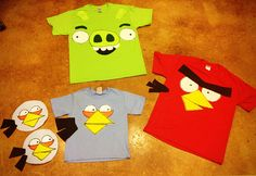 I saw this tutorial to make angry birds costumes and I knew we were going to have to make some sort of variation to have this happen in my household. Jude really likes Angry Birds. I know, I should be ashamed that I let him play phone games or something, but he's really good at... Continue reading →