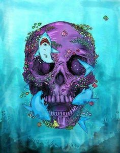 Underwater skull. ❣Julianne McPeters❣ no pin limits