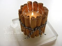 Cinnamon wrapped candle 1000px