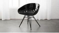 Pugo Black Metal Chair | CB2 #MetalChair
