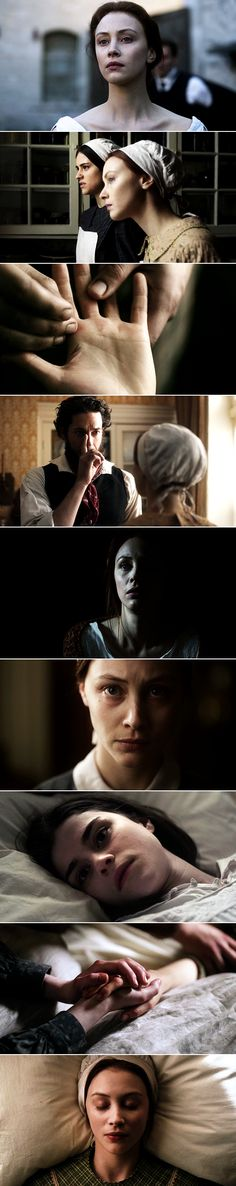 A girl should not ever let her guard down. Mary taught me that. So did the world I suppose. //  Alias Grace, part 2