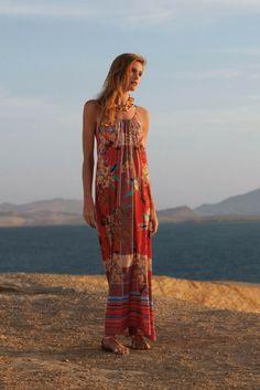 Anthropologie Aija Maxi Dress   $80