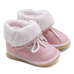 Cute winter fur boots by my little boots   notonthehighstreet.com