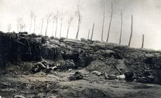 15th (Scottish) Division, casualties of the Third Battle of Ypres at Langemark, north-east of Ypres, 1917.