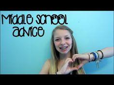 Middle School Advice! - YouTube xoBeautySecretsxo