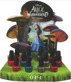 Alice in Wonderland polish by OPI