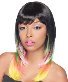 Black Hair Style   wigs   synthetic-wigs   its-a-wig-synthetic-lace-front-wig-rainbow-pop