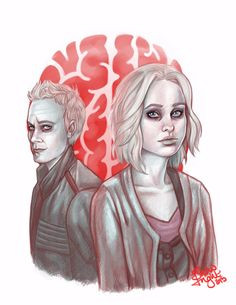 iZombie: thanks for the memories by SnowFright at DeviantART