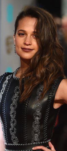 Alicia Vikander - Bafta Awards 2016