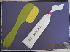 Dental Health Month craft idea for kids – Crafts and Worksheets for Preschool,Toddler and Kindergarten