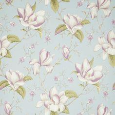 Lilium by iliv - Eau de Nil : Wallpaper Direct Embossed Wallpaper, Wallpaper Panels, Wallpaper Roll, Wallpaper Ideas, Easy Up, Apricot Blossom, Buy Wallpaper Online, Botanical Wallpaper, Dahlia Flower