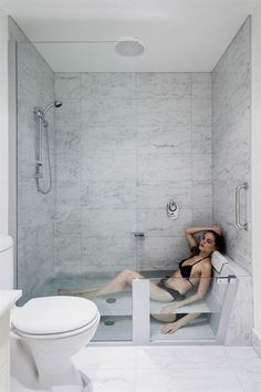 Whether you have a bathtub or not, walk-in showers are a great idea because they fit right in with your décor and help other elements around the bathroom stand out.... #RemodelingIdeas