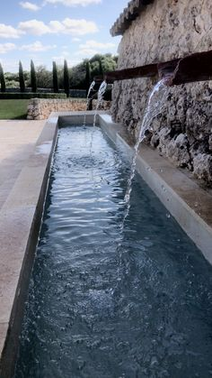 Modern Fountain, Fountain Design, Barbecue Garden, Garden Design, Landscape Design, Outdoor Furniture Plans, Water Features In The Garden, Garden Fountains, Water Garden