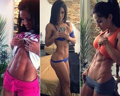 Michelle Lewin --diet and exercise routine from simply shredded #fitspo