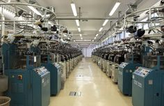 Zita Tops Sock Factory: Internal view