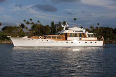 Classic Trumpy Motor Yacht 84'