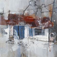 The painter Pete Monaghan tells us about his project involving painting scenes of derelict filling stations in Wales Landscape Art, Landscape Paintings, Landscapes, Acrylic Paintings, Decay Art, Art Du Collage, Blog Art, Pompe A Essence, Urban Painting