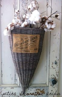"""How to """"grey"""" baskets - going to do"""