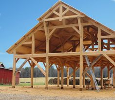 Small pole barn homes are you thinking about building one? We can help you find companies that build pole barn homes in your area. Building A Pole Barn, Pole Barn House Plans, Metal Building Homes, Barn Plans, Barn Garage, Metal Barn Homes, Pole Barn Homes, Timber Frame Homes, Timber Frames